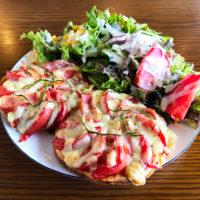 本日より泉佐野店にて「期間限定ピザパンケーキ」が復活!
