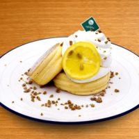 7月の新作はレモンパンケーキとおかずパンケーキ!