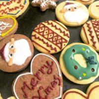 クリスマスアイシングクッキーを発売中!
